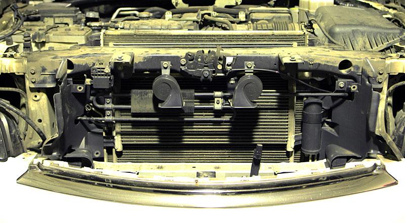 Radiator. Мойка радиатора в автосервисе с разборкой.