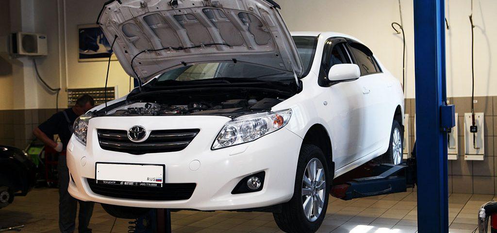 toyota-corola. Техническое обслуживание в сервисе Тойота.